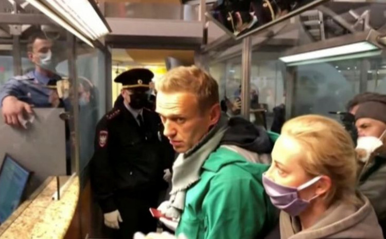Navaljni: Uhapšen jučer na moskovskom aerodromu