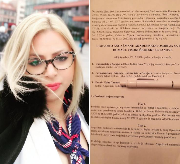 Trumić: Nije tačno da su me otpustili, ja sam dala otkaz
