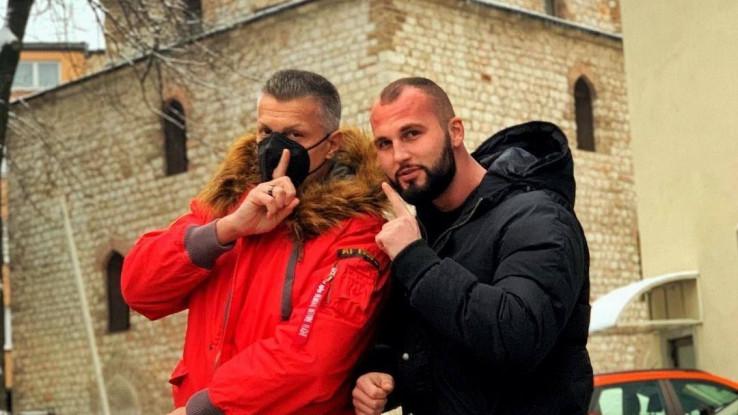Đorđe David i Bajrović: Ugostio mentora u Sarajevu