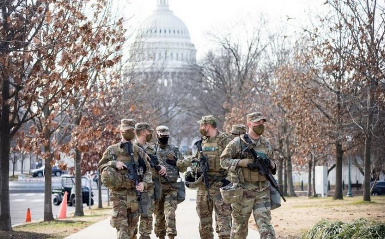 Nacionalna garda čuva Kapitol