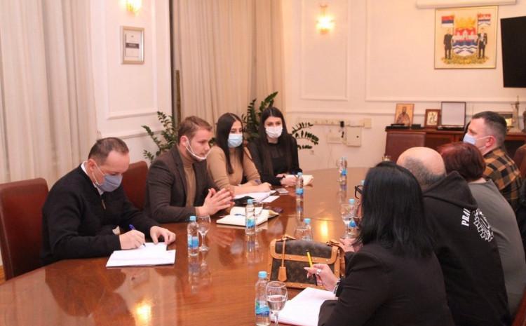 Sa sastanka: Nakon tri godine članovi grupe u Gradskoj upravi