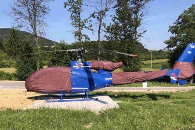 Helikopter koji je oduzet supružnicima