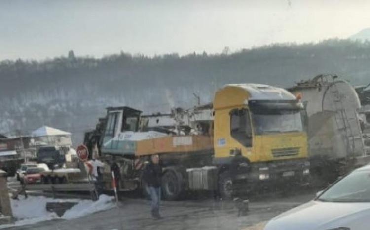 S mjesta nesreće: Nije bilo povrijeđenih