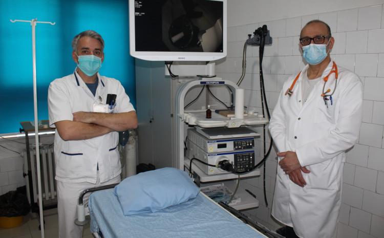Dr. Oden s Nalićem u bolnici u Gračanici