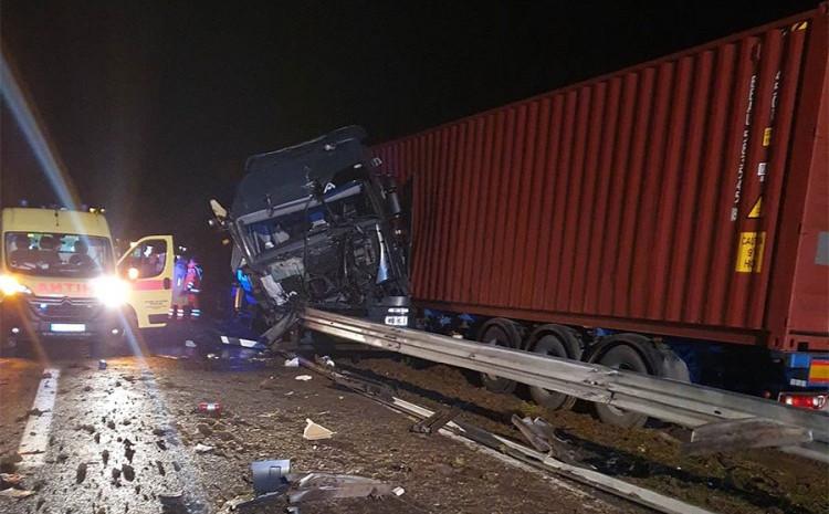 S mjesta nesreće: Vozač lakše povrijeđen