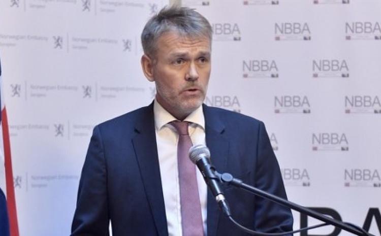 Ambasador Norveške u BiH Olav Reinertsen