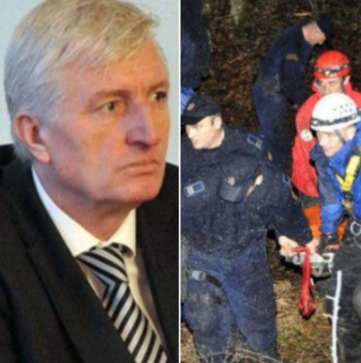 Tijelo akademika Redžića pronađeno 21. januara 2013. u rejonu Lapišnice