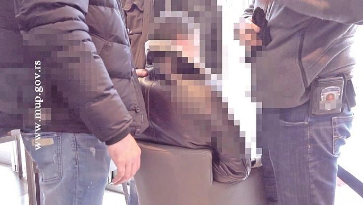 Detalj s hapšenja Lukajića