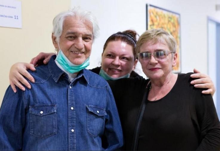 Adriana sa roditeljima