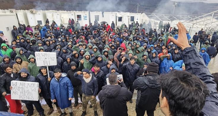 Migranti štrajkovali glađu