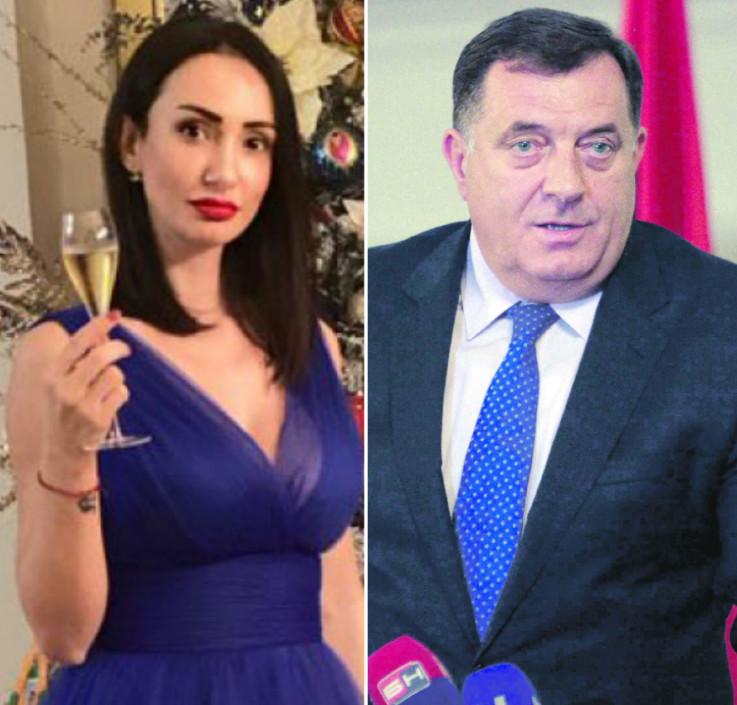 Kćerka Milorada Dodika širi mržnju preko Twittera