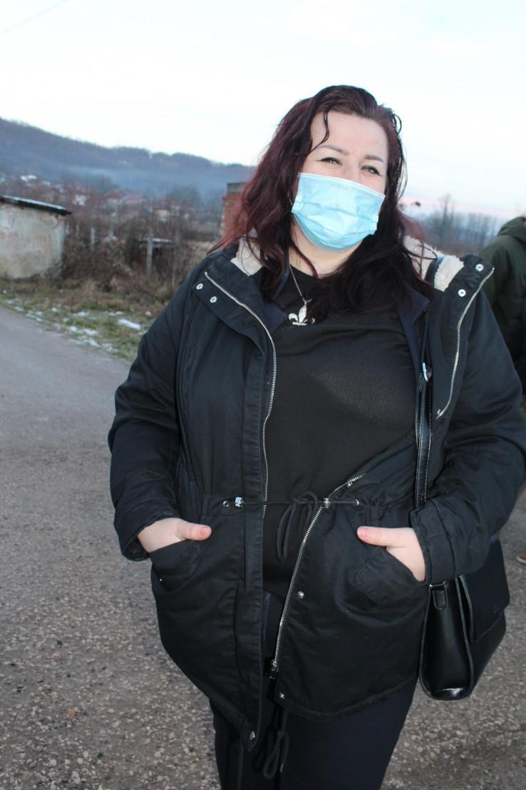 Mujakić: Kažnjena sa 500 KM zbog organizacije mirnih protesta