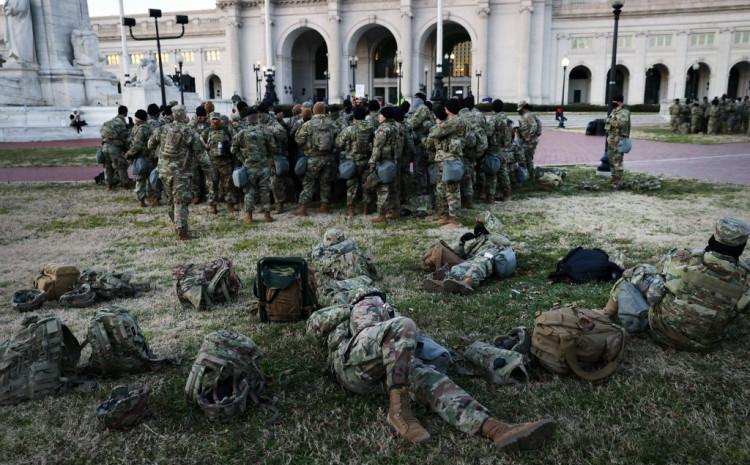 Pripadnici Nacionalne garde u Vašingtonu