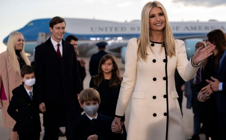 Ivanka Tramp s porodicom