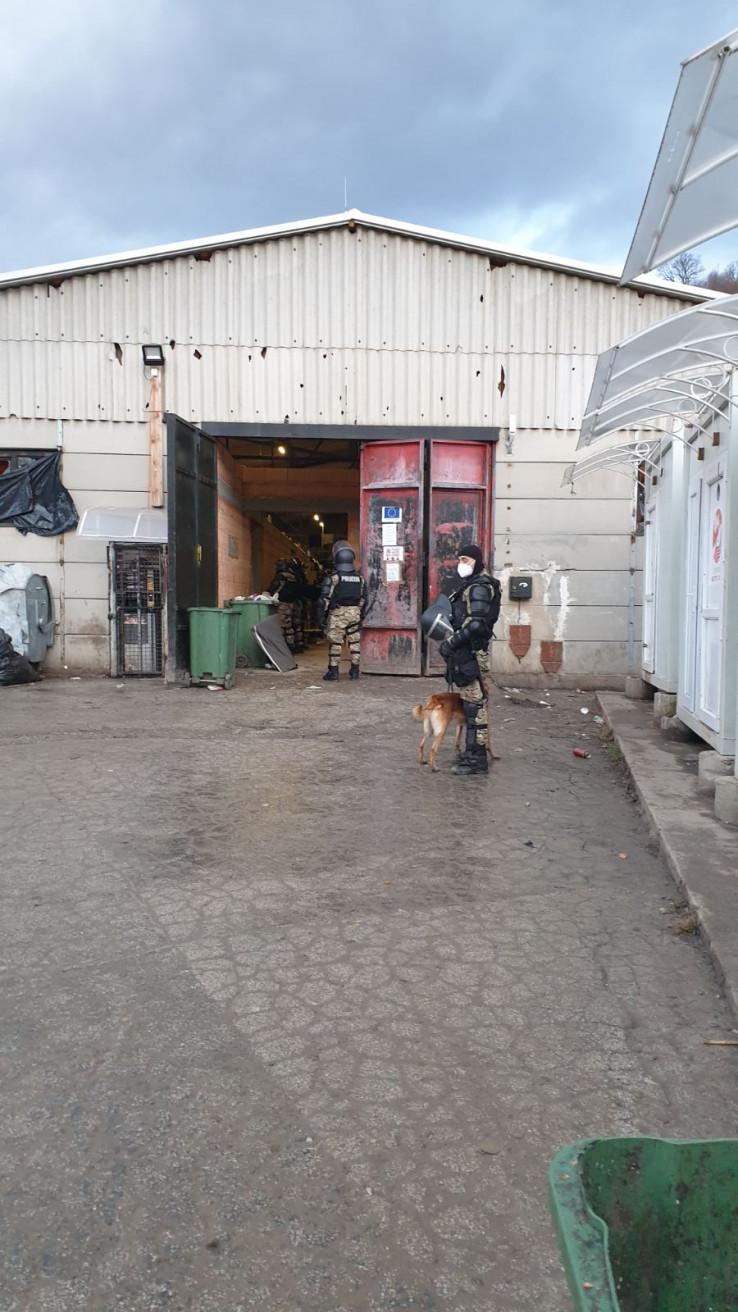 U pretresu korišteni službeni psi