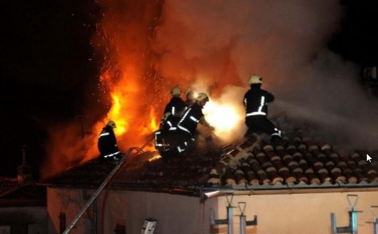 Požar na kući u Ulici Misoča prijavljen jučer u 16 sati