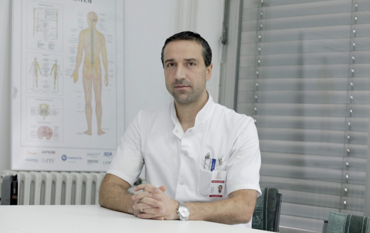 Dr. Rifat Rijad Zaid, predsjednik  Sindikata doktora medicine i  stomatologije FBiH