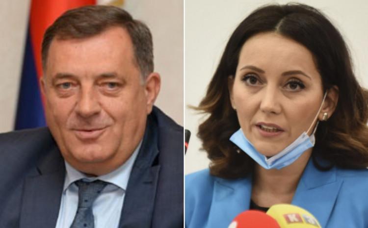 Milorad Dodik i Vanja Bjelica Prutina