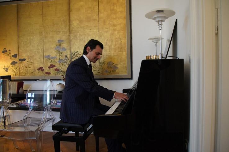 Umjetnička strana ambasadora Italije