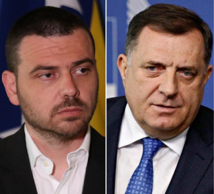 Magazinović komentirao Dodikove istupe
