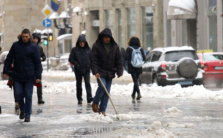 U narednom periodu mogu očekivati temperature ispod nule uz malo snijega