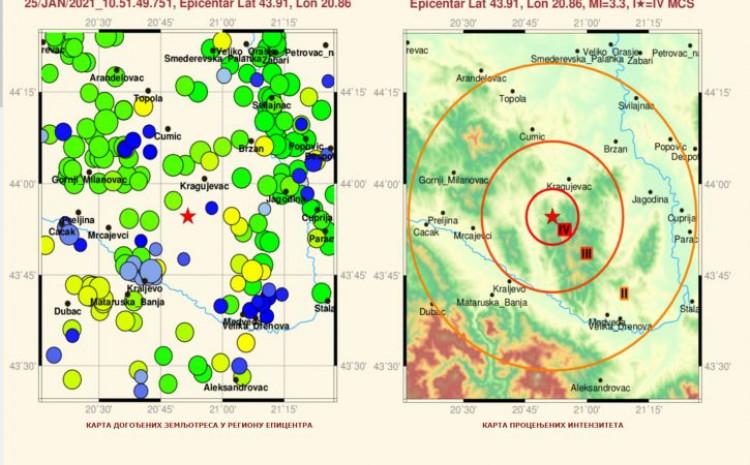 Zemljotresi ovakvog inteziteta mogu izazvati vrlo mala oštećenja na objektima
