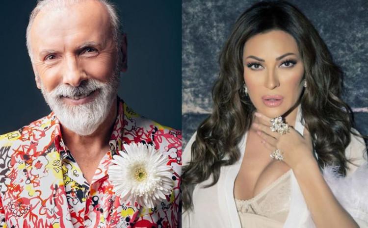 Dino Merlin i Svetlana Ceca Ražnatović