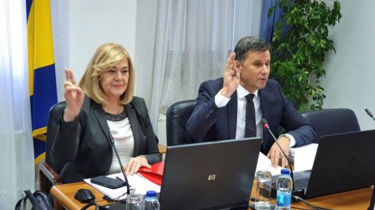 Milićević i Novalić: Optuženi premijer i dopremijerka Vlade FBiH