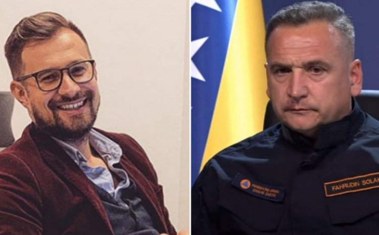 Hodžić and Solak: Accused of abuse of power