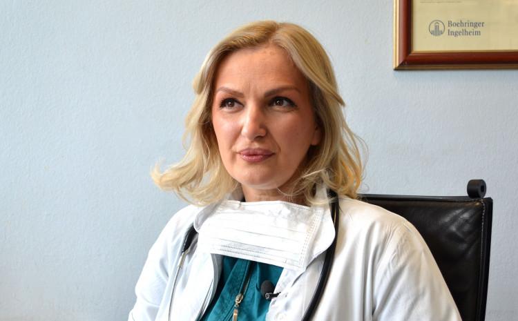 Ministrica zdravstva Crne Gore Jelena Borovinić-Bojović