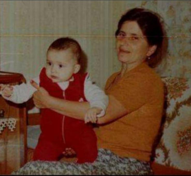 Fotografija Maje dok je bila beba