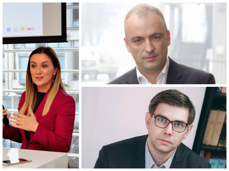 Amila Pilav-Velić,  Draško Aćimović, Faruk Hadžić
