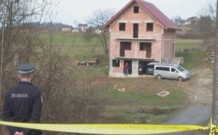 Kuća u kojoj je pronađeno vozilo