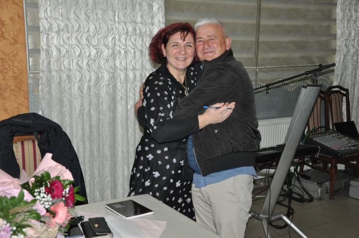 Zemina i njen brat Ismet Pehlić, jedan od Hankinih i Šahidovih sinova