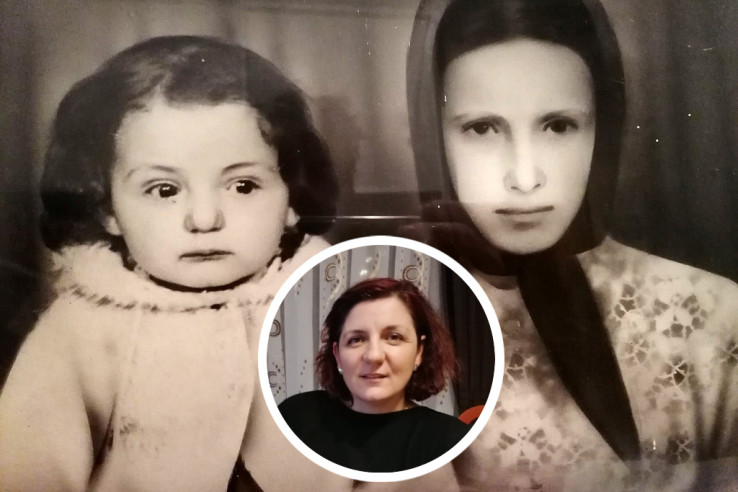 Zemina Suljanović danas i kao trogodišnjakinja kada su je maloljetnoj majci Feridi Murgić otrgli iz ruku
