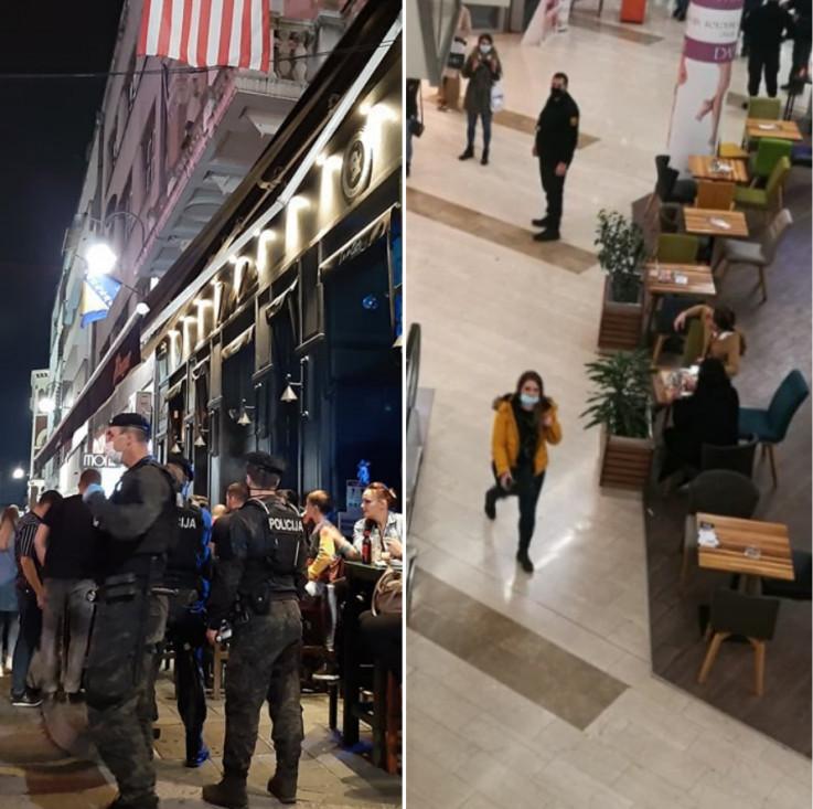 Inspektori obilazili lokale kao i tržne centre