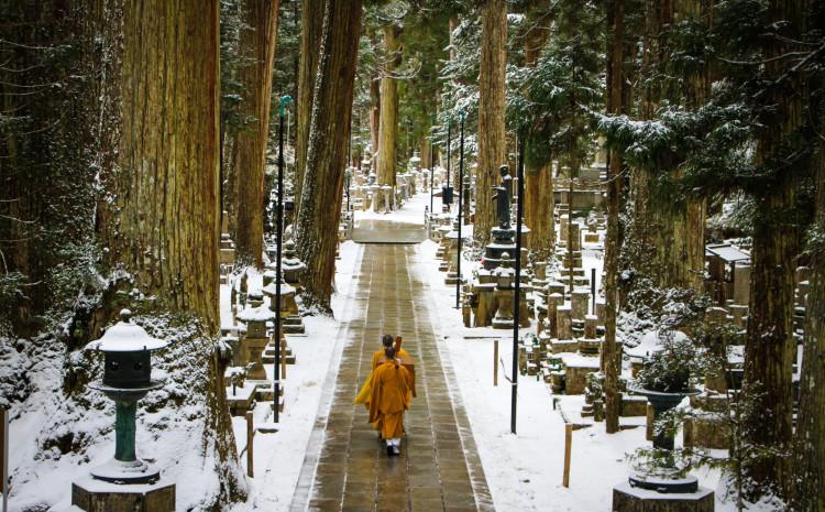 Koya-san je najduhovnije mjesto Japana
