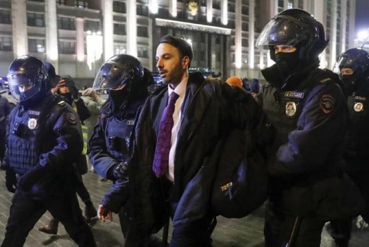 Policija hapsila sinoć u Moskvi