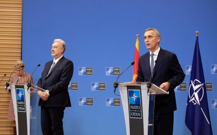 Zdravko Krivokapić i Jens Stoltenberg