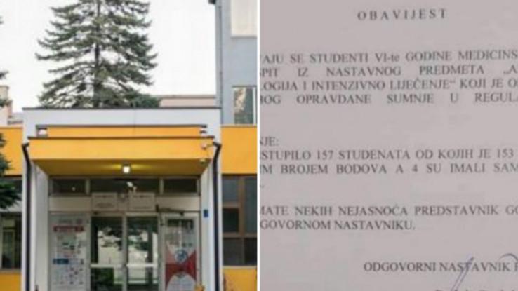 Profesor Medicinskog fakulteta Tuzla poništio ispit