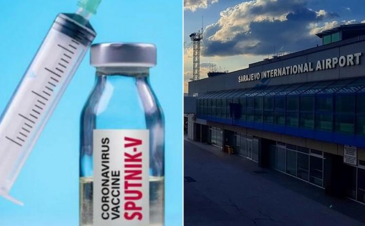 Vakcine odvezene sa Aerodroma Sarajevo
