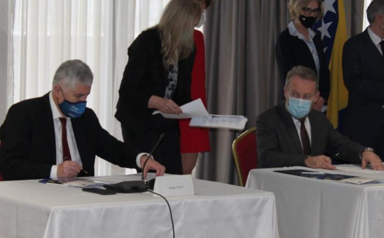 S današnjeg potpisivanja zejdničke izjave o planu prioriteta  za ubrzanje procesa evropskih integracija