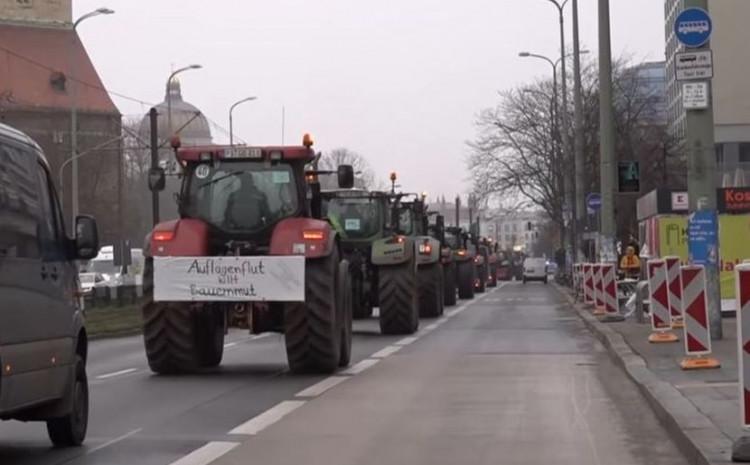 Traktori u Berlinu