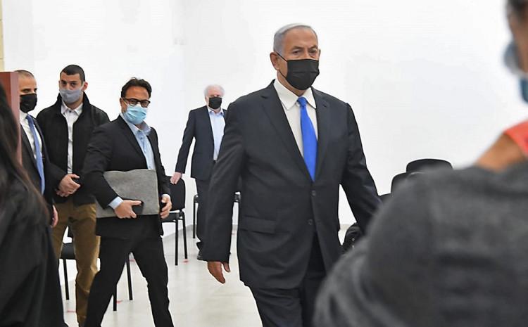Netanjahu stigao na saslušanje
