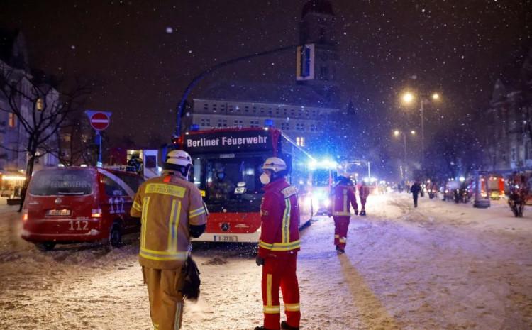 Izbio požar u centru za izbjeglice u Berlinu, veliki broj povrijeđenih