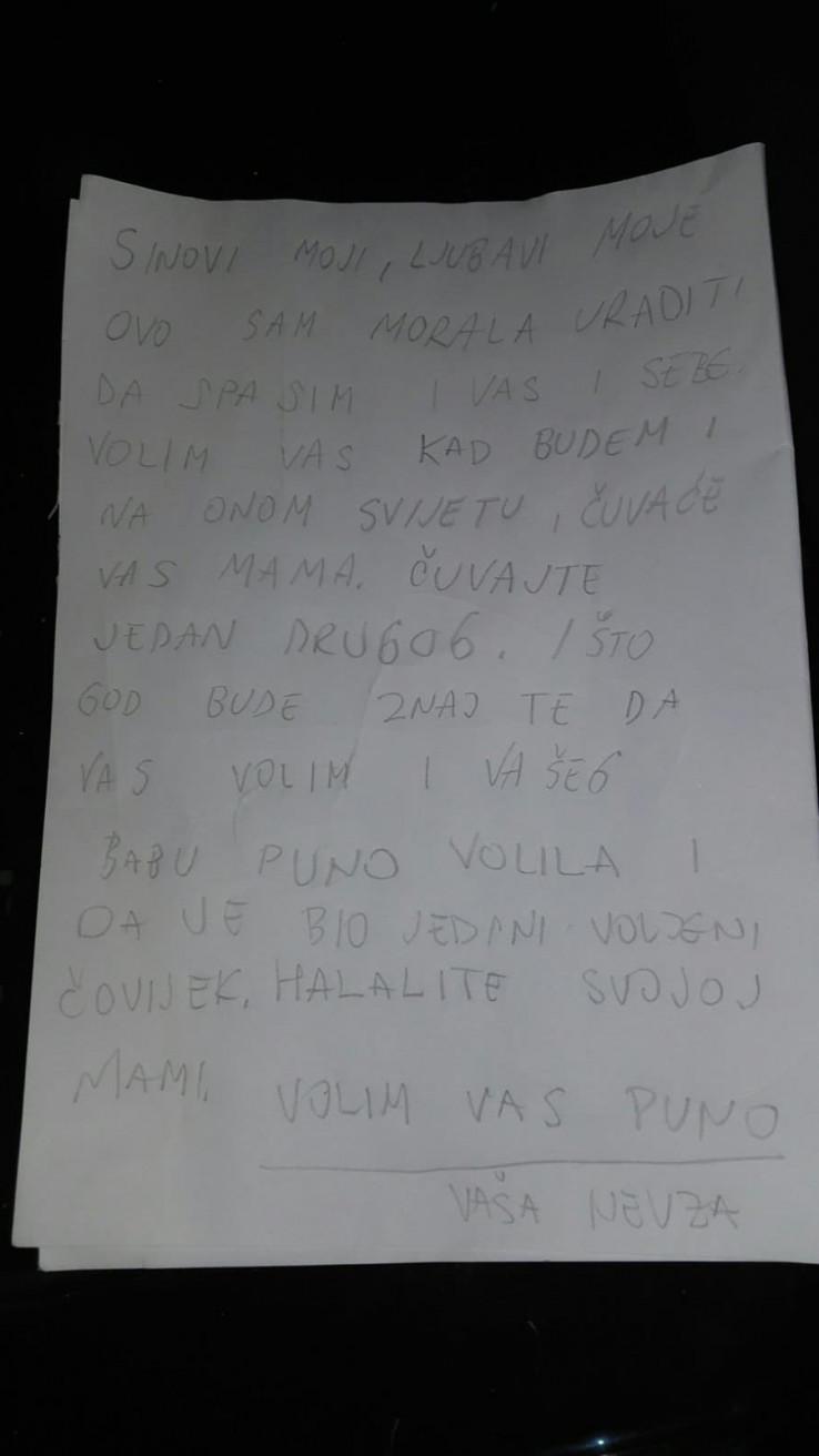 Pismo koje je pronašao: Istražitelji će utvrditi da li je pismo podmetnuto i ko je autor