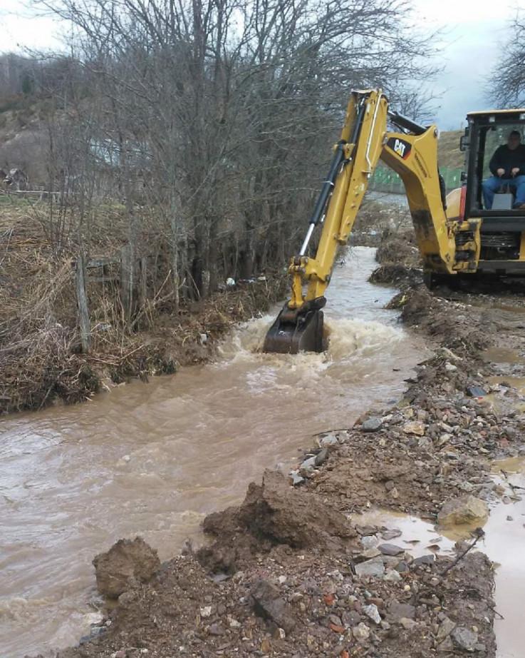 Nevolje stanovnicima donijele padavine