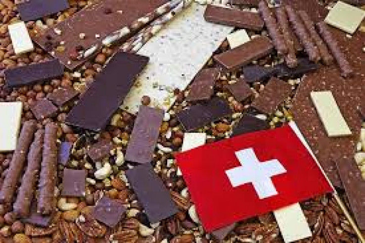 Švicarska je zemlja čokolade