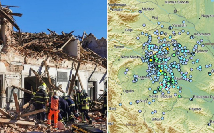 Potresi su se osjetili i u Zagrebu