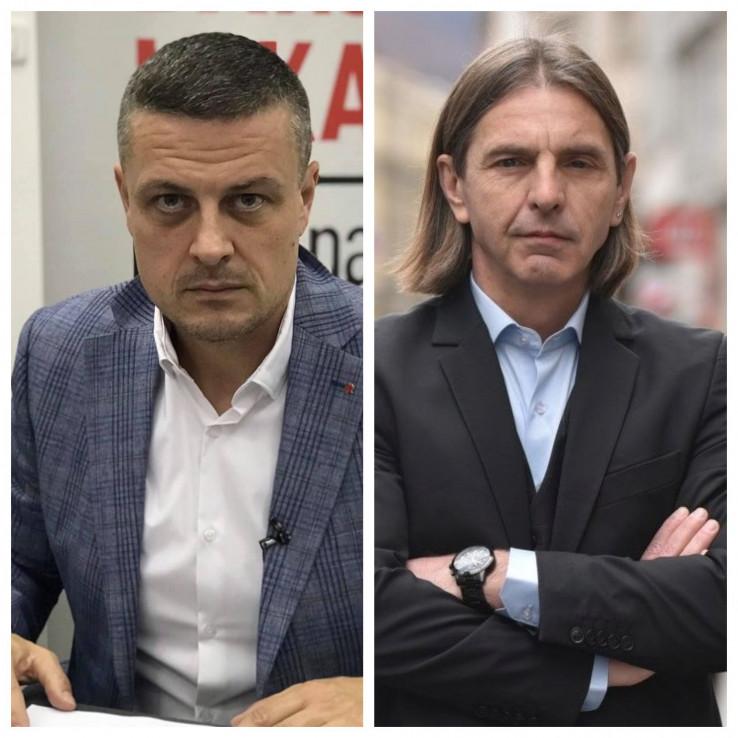 Predrag Kojović (Naša stranka) i Vojin Mijatović (SDP BiH)